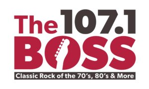 The 107.1 Boss logo